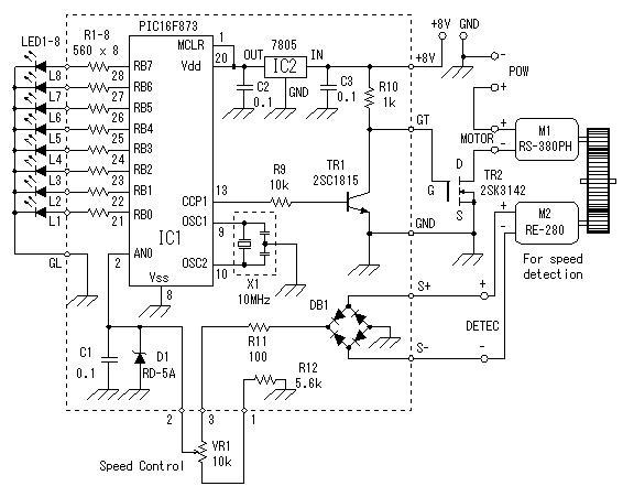 直流电机调速 dc motor speed control-昆虫分享