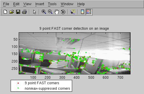 matlab实现图像id3快速角点检测